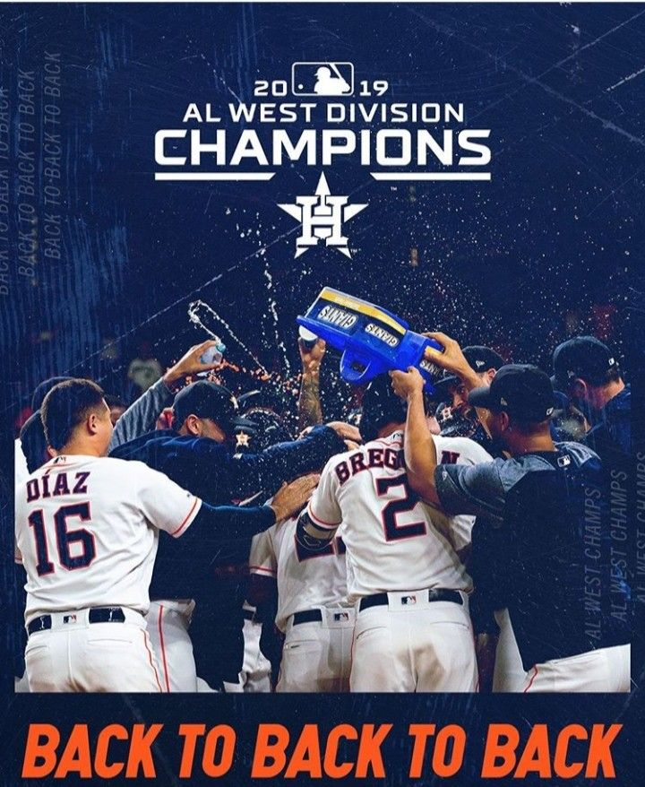 BASEBALL POSTER Houston Astros Collage 2010