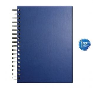 Promotional Castelli Wiro Bound A5 Notebook, Tucson Medium Spiral Bound Notebook