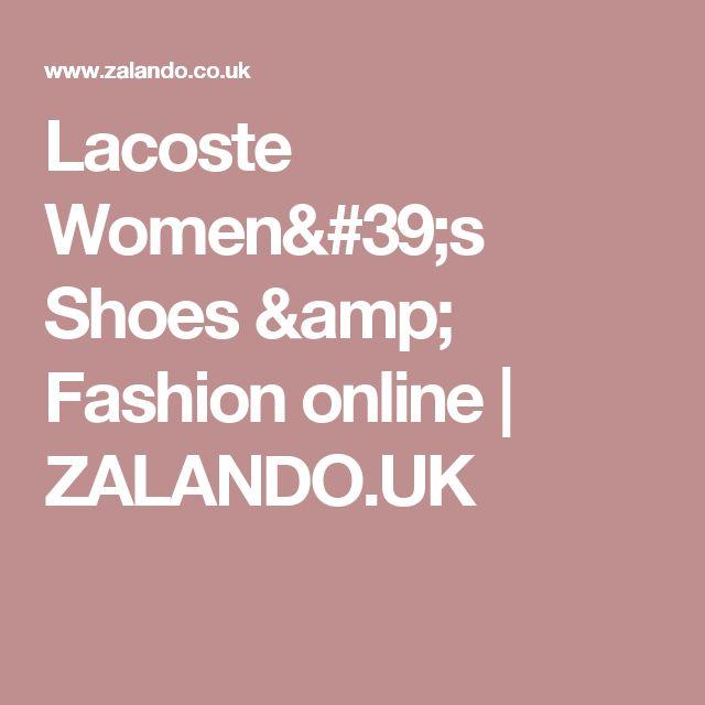 Lacoste Women's Shoes & Fashion online | ZALANDO.UK