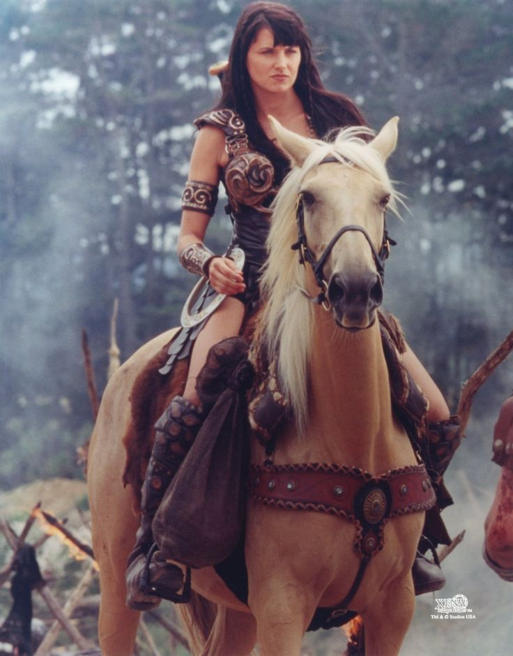 "Some mornings i wake up and just say ""yeah, i'm gonna be a badass warrior princess today"" ;) Xena"