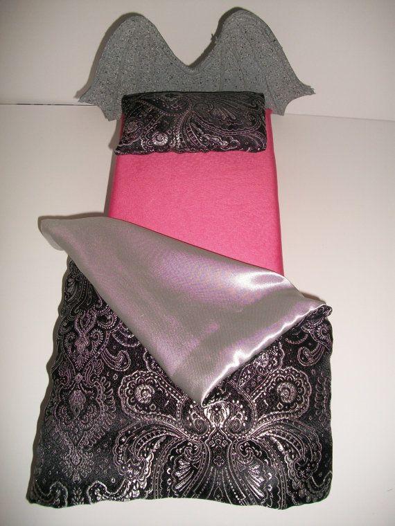 Furniture for Monster High Dolls Handmade Gargoyle Bed for Rochelle Goyle