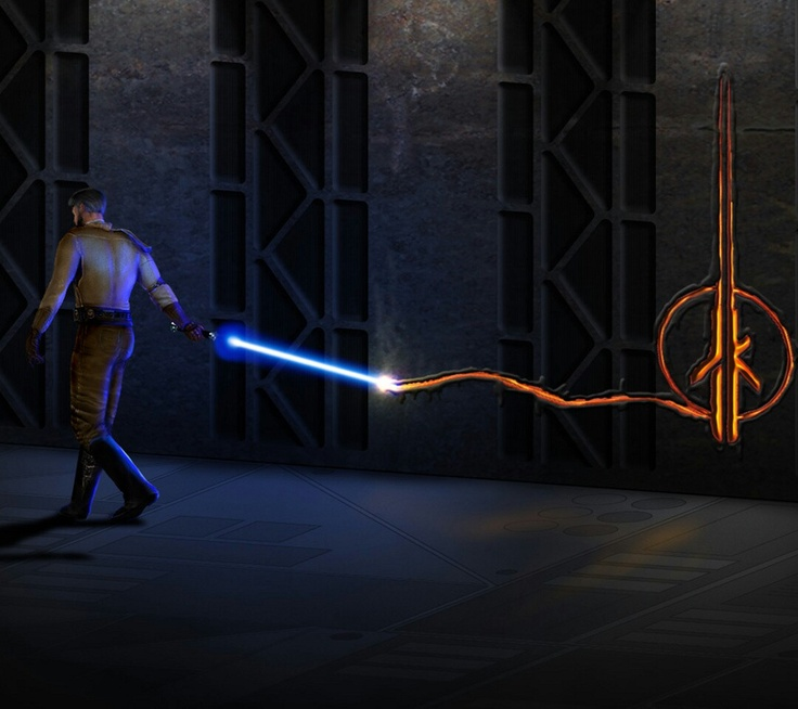 Star Wars Jedi Knight 2 Jedi Out cast...the best star wars game, and it IS CANON!!! don't listen to the lie's of disney!