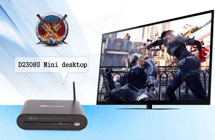 Giada D2308U Mini Desktop Intel i7-4500U GTX750 2x4G DDR3+1T SATA HDD