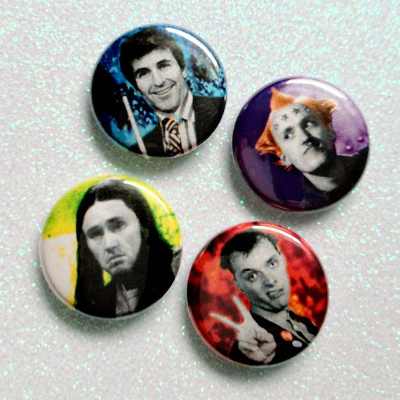 BOOM SHANKA. The Young Ones. pin or magnet set. $6.00, via Etsy.