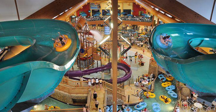 Klondike Kavern Indoor Waterpark Thrill Rides Like The