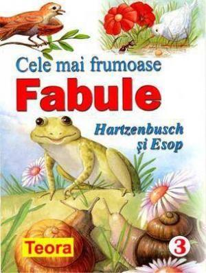 Seria Cele mai frumoase fabule -3 Hartzenbusch si Esop - 4.23 lei