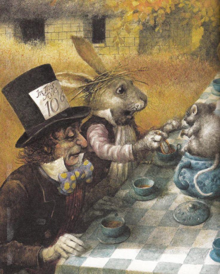 Robert Ingpen. Australia Alice aux pays des merveilles --- Alice in Wonderland --- Alicia en el País de las Maravillas --- Alice im Wunderland