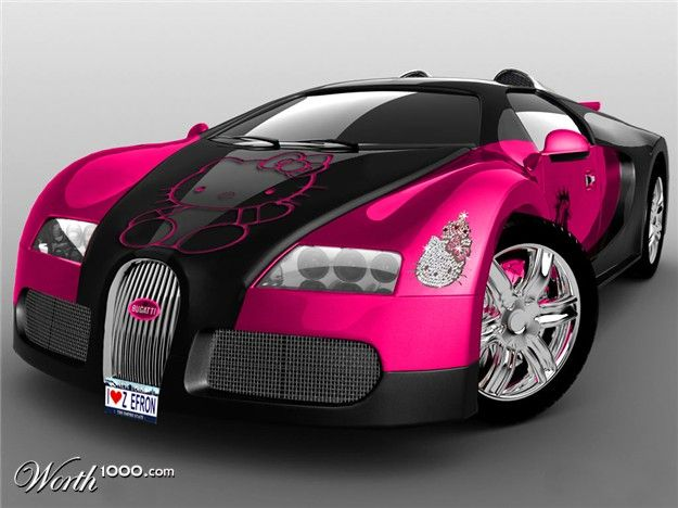 hello kitty car paint jobs decided to keep it simple painting it pink and using hello kitty cars that suit me pinterest simple paintings
