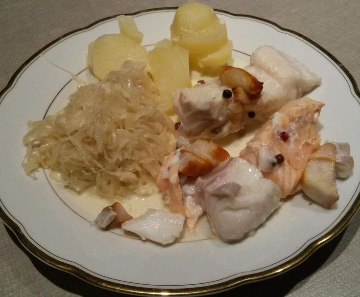 Recette Choucroute de la mer par 57Brigitte - recette de la catégorie Poissons