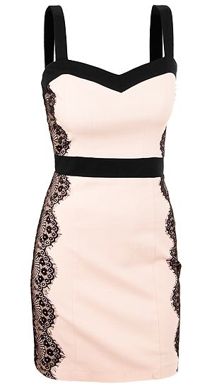 Saucy, sexy, cute, flirty - love the lace and cut (may have already pinned this)