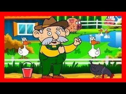 Dziadek fajną farmę miał - piosenki dla dzieci Old McDonald po polsku BZYK.tv - YouTube