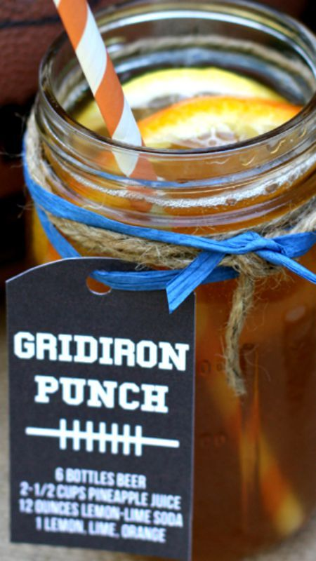 Tailgate Gridiron Punch Recipe ~ a delicious and refreshing recipe for ...