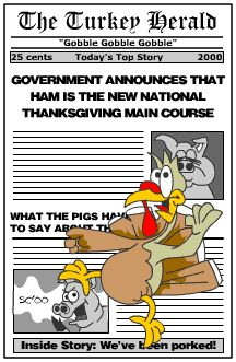 Good News for Thanksgiving Turkey