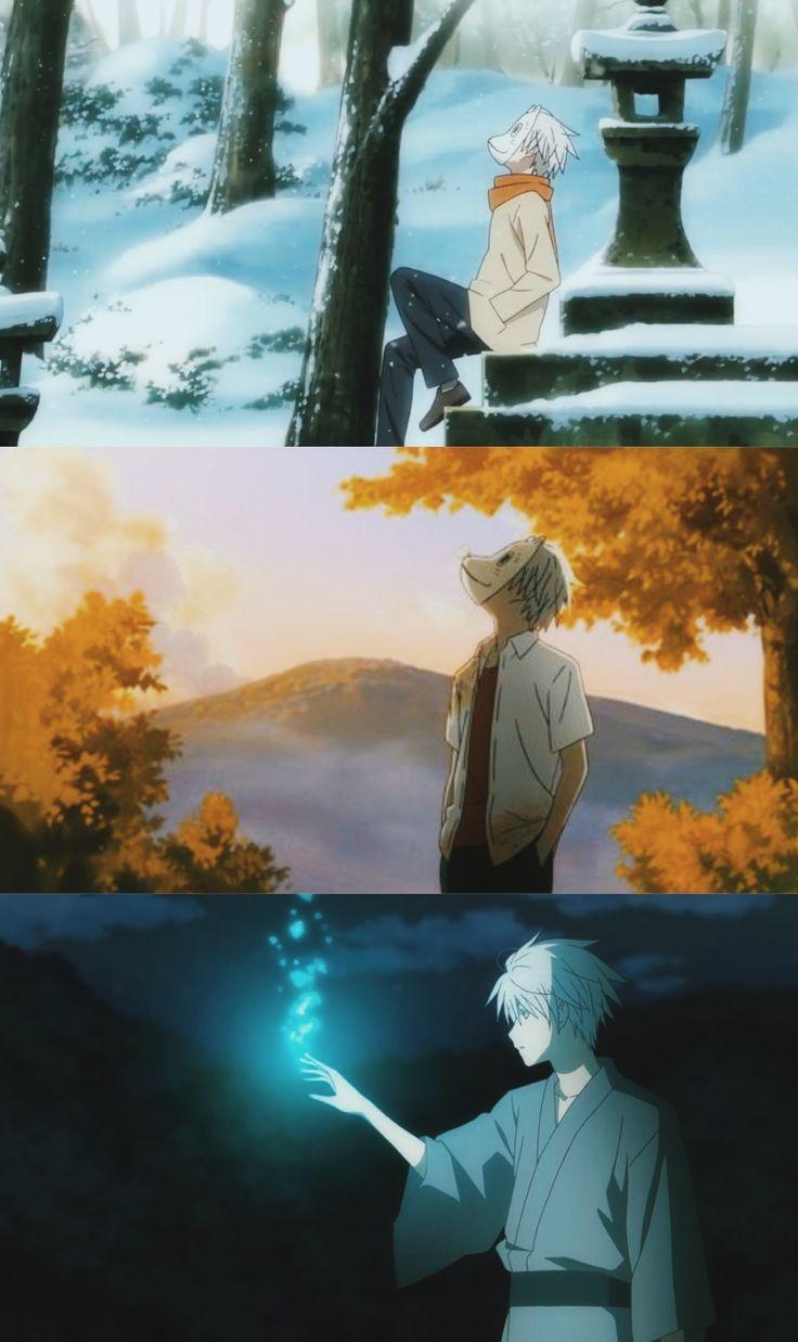 Hotarubi no mori e anime hotarubi no mori personagens