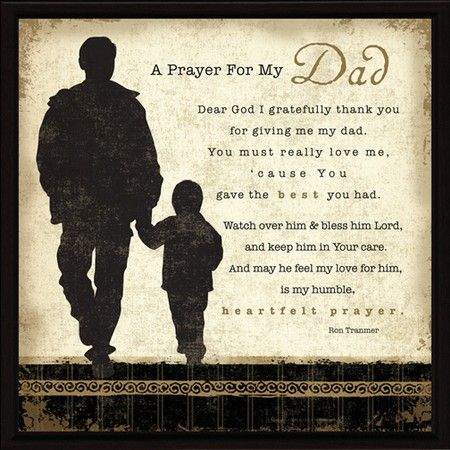 father's day blessing words