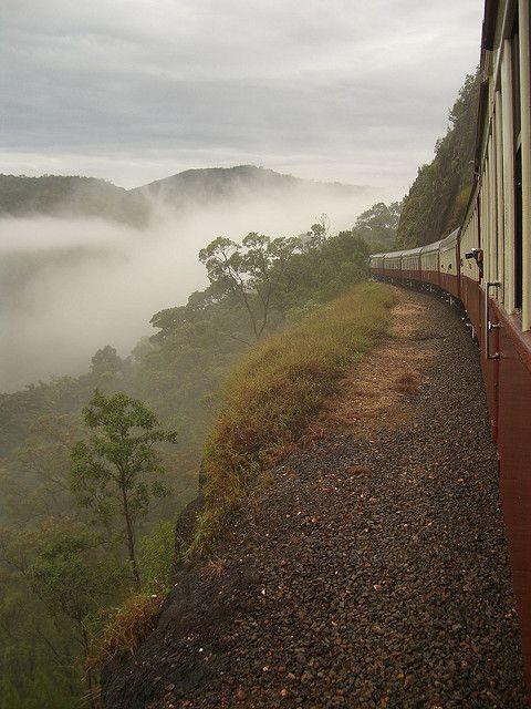 Kuranda Scenic Railway in Queensland, Australia (by Pat Scullion).