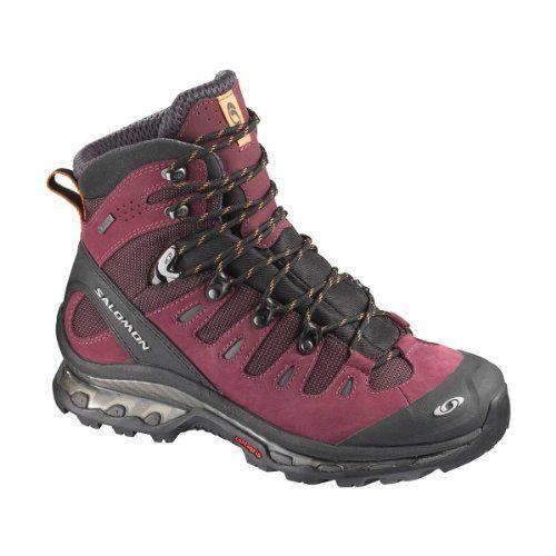 SALOMON Quest 4D GTX Ladies Hiking Boots, Purple/Black, UK6 - http://trailrunningshoes.pesonashop.co.uk/salomon-quest-4d-gtx-ladies-hiking-boots-purpleblack-uk6/