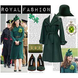 St. Patrick's Day: Kate Middleton Edition