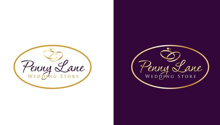 """logo for Pennylane Wedding Store (Please submit options for """"Penny Lane"""") by Sector Nine Studios"""