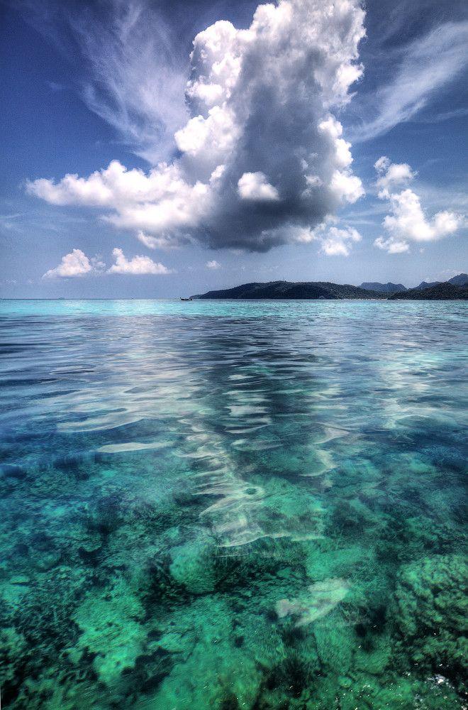 Underwater sky by Yury Barsukoff
