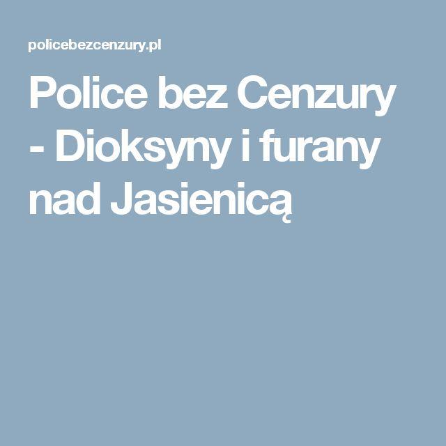 Police bez Cenzury - Dioksyny i furany nad Jasienicą