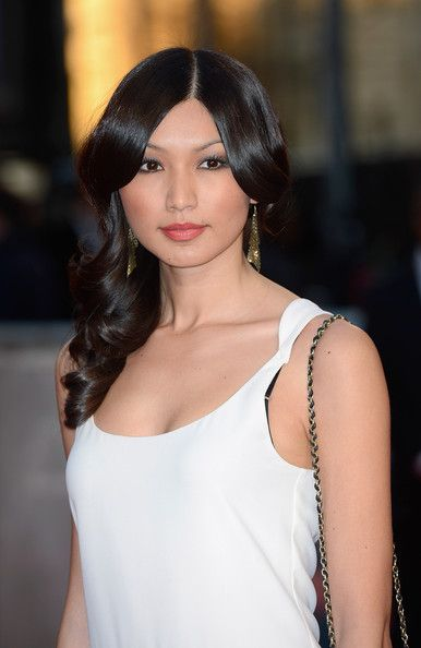 Gemma Chan Photos: The Red Carpet at the 'Titanic 3D' Premiere