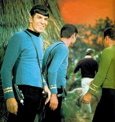Rare Vulcan Smile! :-)