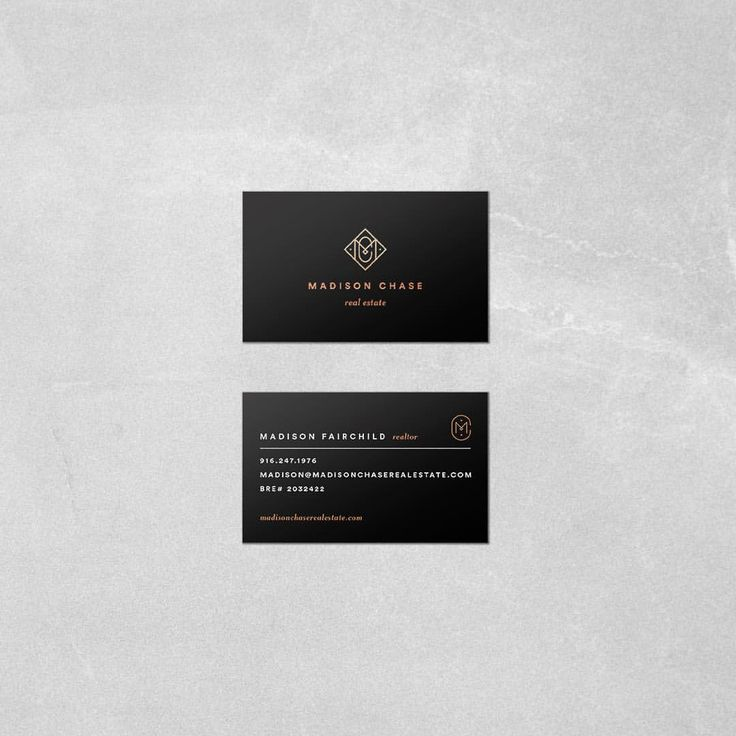 1637 best business cards images on pinterest graphics lipsense heres the final business card design for madison chase real estate branding reheart Image collections