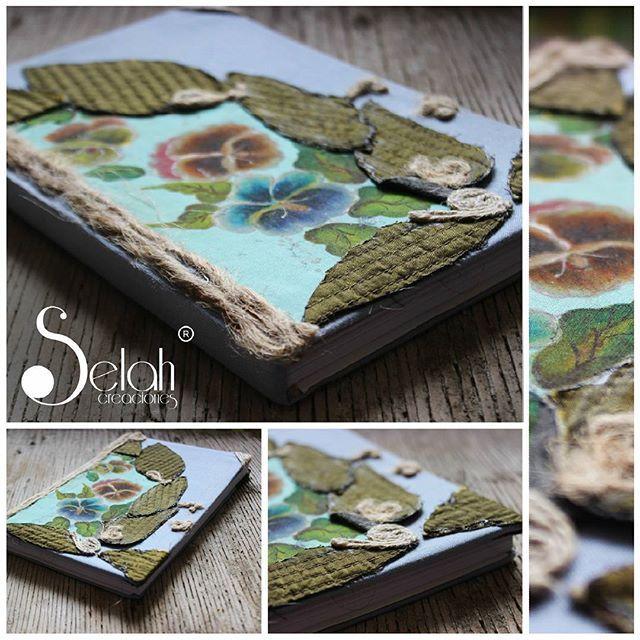 """Cuaderno / Flores de Estacion  Selah Creaciones... Productos con tradicion. """"Si la inspiracion viene a mi salgo a su encuentro, a la mitad del camino""""  Sigmud Freud  / Chile <3 Fan Page <3 Facebook <3 Twitter <3 Flickr <3 selah.creaciones@gmail.com"""