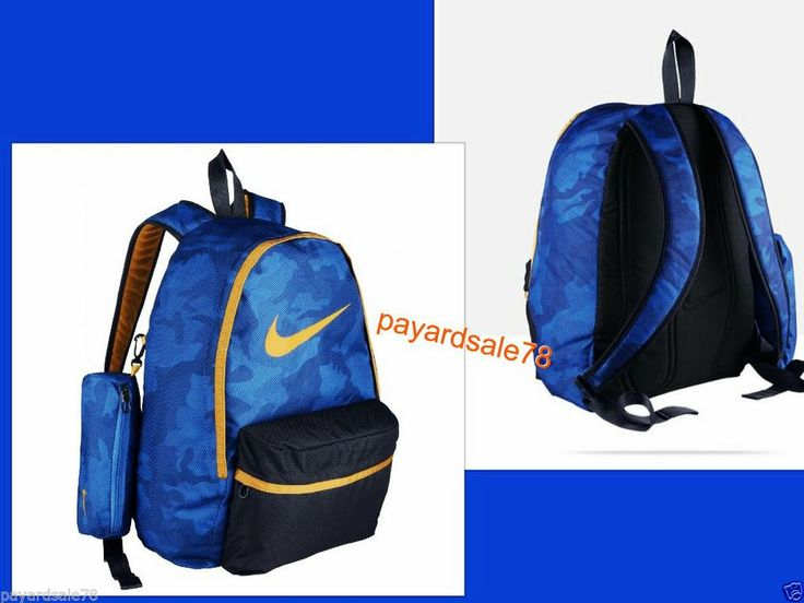 Nike youth backpack rusksack school bag sports bag travel day pack ...