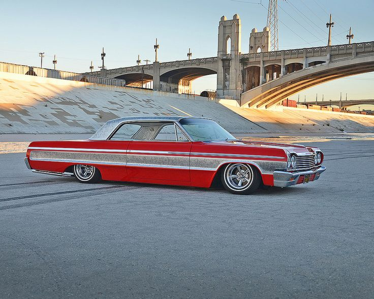 1964 Chevy Impala | 6th St Bridge Los Angeles