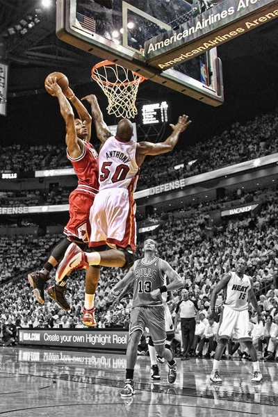 Derrick Rose  the good ole days!!!