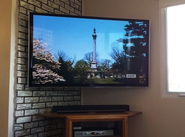 25 best ideas about corner tv mount on pinterest wall mounted corner shelves corner tv. Black Bedroom Furniture Sets. Home Design Ideas