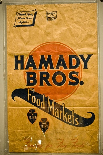 """If you were raised in Flint, there's a good chance you still call grocery bags, """"Hamady sacks."""""""