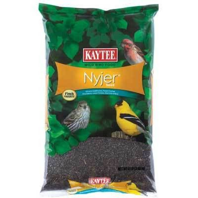 Wild Bird Food - Nyjer Seed 8 pound bag Nyjer seed is a tiny, black birdseed cultivated in Asia and Africa; known for being high in calories and oil content. - High oil content and tiny size make it a