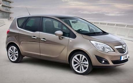 Vauxhall Meriva. Our car.