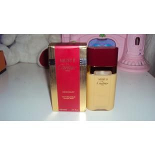 Must de Cartier ii Deodorant 100 ML/3.3 OZ Spray New In Box Rare | Health & Beauty | Fragrances | Women | Happeno