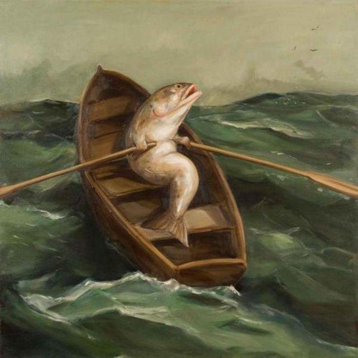 Joanna Braithwaite http://ocula.com/artists/joanna-braithwaite/ #art #surrealism…