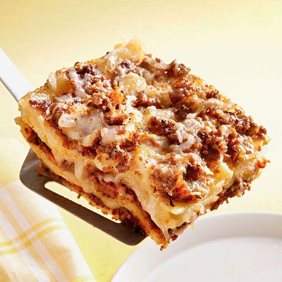 Lasagna Bolognese | Recipe