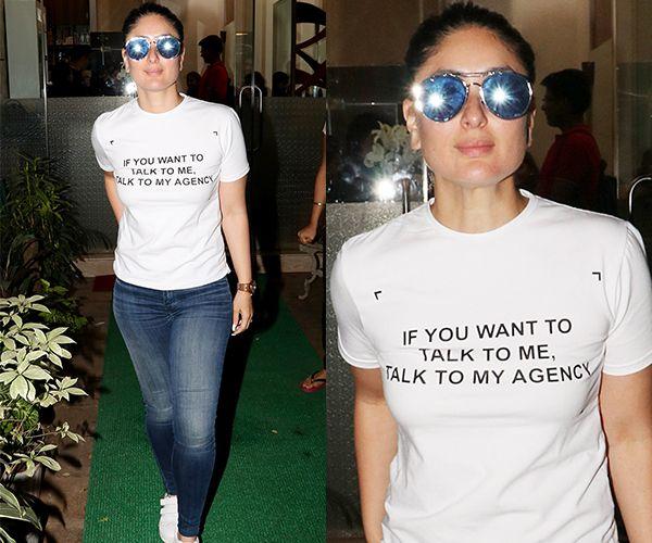 Kareena Kapoor Khan's latest pictures prove she wears her badass attitude wherever she goes!
