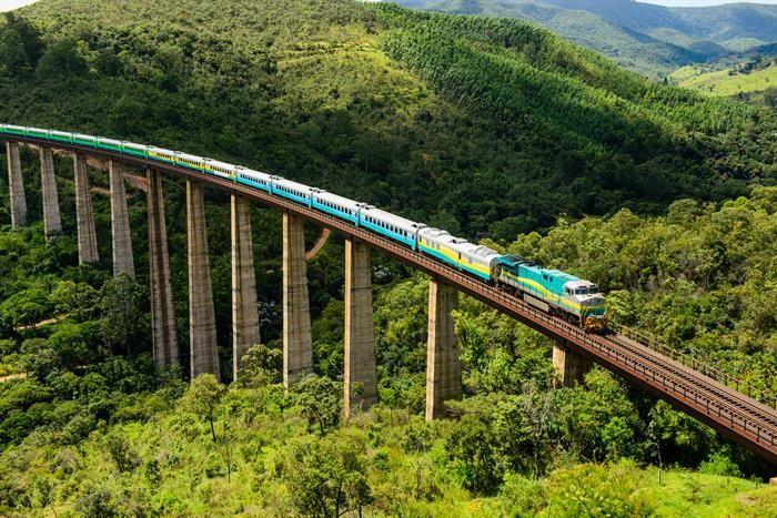 10 viagens de trem para fazer no Brasil