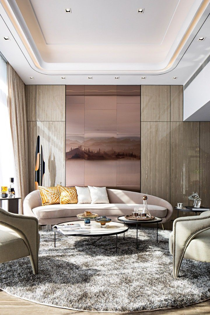 Living Ceiling Residential Interior Design Hong Kong Interior