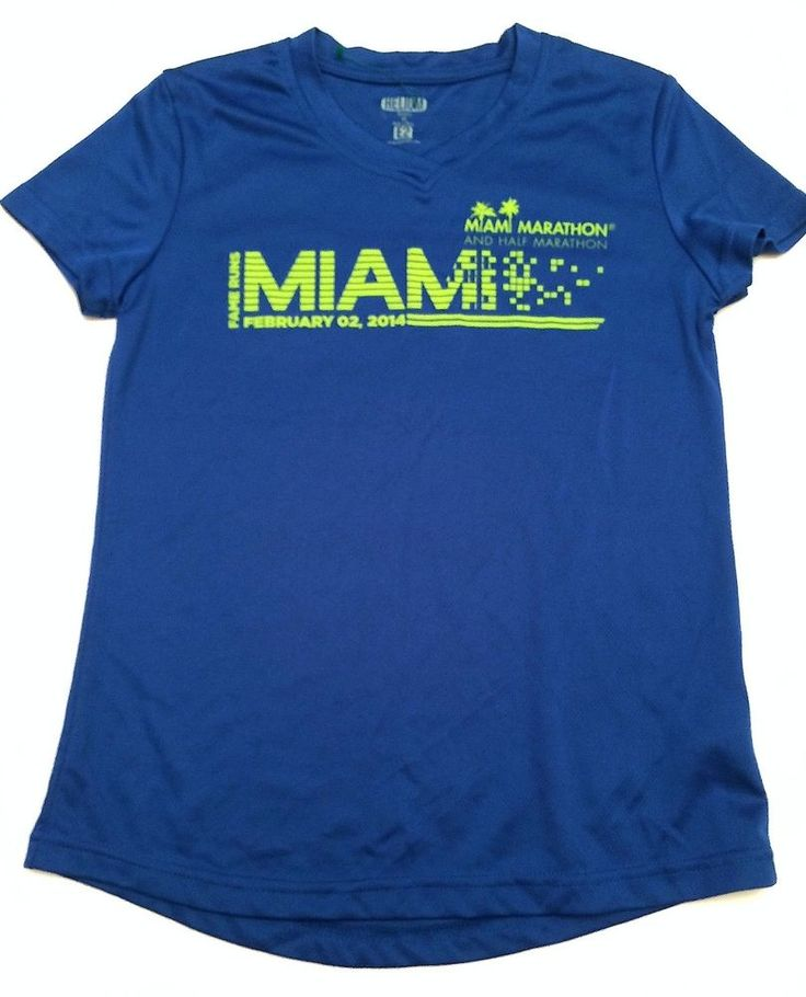 ING Fame Runs Miami Marathon 2014 Blue Lime Green Ladies Women's Race Shirt XS #Helium #ShirtsTops  http://www.ebay.com/itm/ING-Fame-Runs-Miami-Marathon-2014-Blue-Lime-Green-Ladies-Womens-Race-Shirt-XS-/201175640282