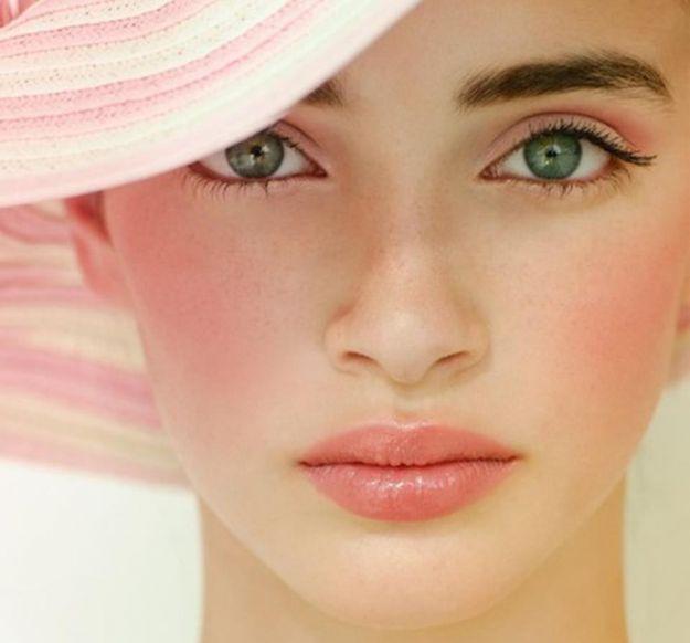 Нежный макияж для зеленых глаз ::: onelady.ru ::: #makeup #eyes #eyemakeup