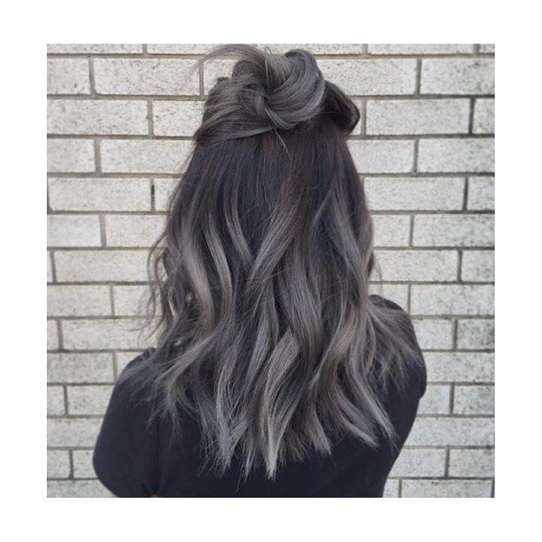 how to style the hair warm grey hair hair color ideas grey ombre 4989 | 3fb94a3922bc44017bbf4989ae3294b1 warm grey grey hair