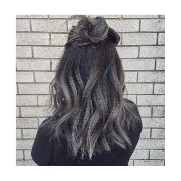 Warm Grey Hair Hair Color Ideas Haare Grau Frben