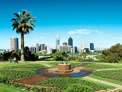 Kings Park, Perth...wonderful park overlooking the city.