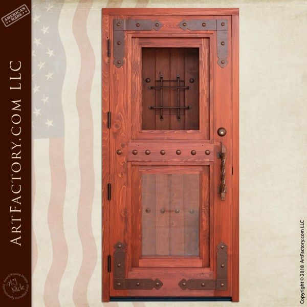 Craftsman Double Security Door: Built With Old World ...