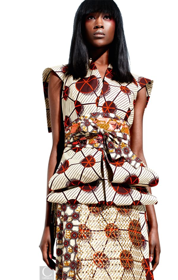 CIAAFRIQUE ™ AFRICAN FASHIONBEAUTYSTYLE VLISCO