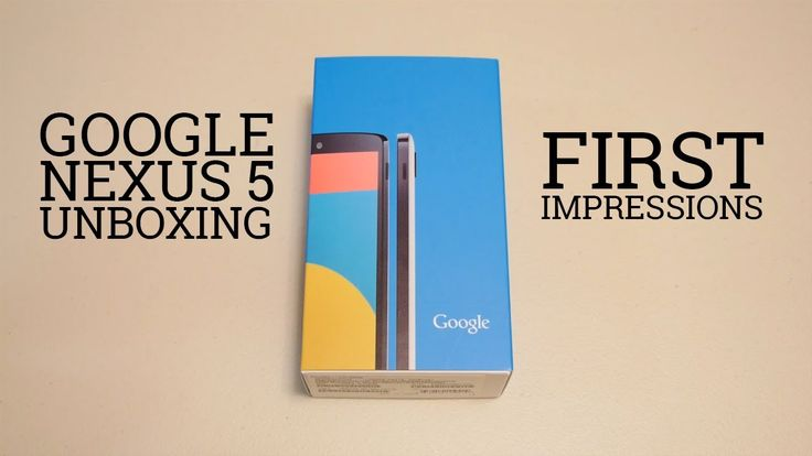 Nexus 5 Unboxing and First Impressions
